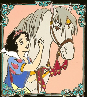 Disney Auctions Pin - Snow White & Horse