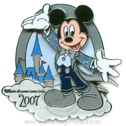 Disney Visa Pin - Mickey Mouse 2007