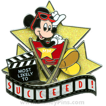 Disney Pin Trading University Pin - Most Likely To - Mickey Mouse
