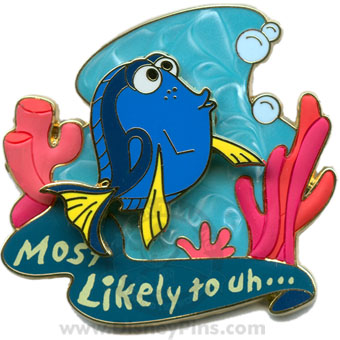 Disney Pin Trading University Pin - Most Likely To - Uh... - Dory