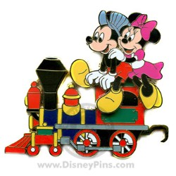 Disney Gold Card Pin - Character Train - Engine