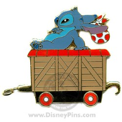 Disney Gold Card Pin - Character Train - Freight Carrier
