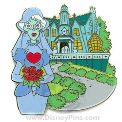 Disney Gold Card Pin - The Haunted Mansion - The Bride
