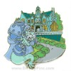 Disney Gold Card Pin - The Haunted Mansion - Headless Knight