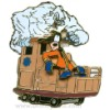 Disney Gold Card Pin - Expedition Everest - Goofy on Train
