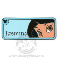 Disney Hidden Mickey Completer Pin - Princess Eyes - Jasmine