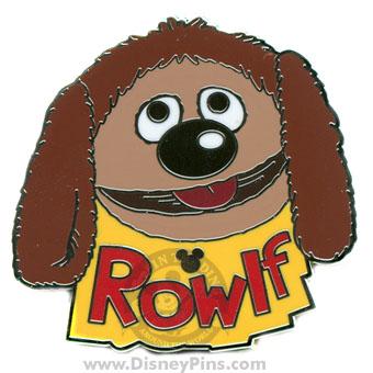 Disney Hidden Mickey Pin Muppets Rowlf The Dog
