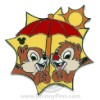 Disney Hidden Mickey Pin - Chip and Dale - Summer