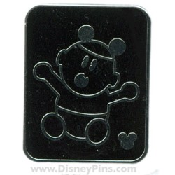 Disney Hidden Mickey Pin - Family - Baby with Mouse Ears