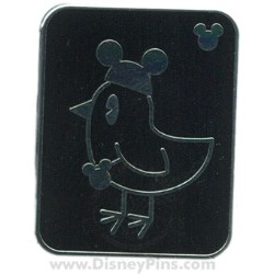 Disney Hidden Mickey Pin - Pets - Bird with Mouse Ears
