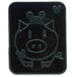 Disney Hidden Mickey Pin - Pets - Pig with Mouse Ears