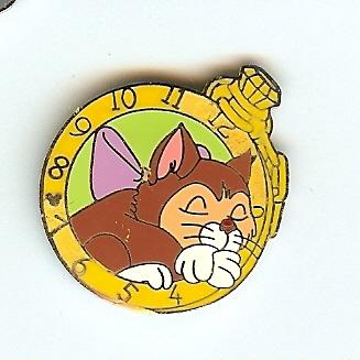Disney Hidden Mickey Pin Alice Watch Collection Dinah