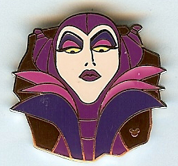 Disney Hidden Mickey Pin - Villains Collection - Maleficent