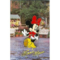 Disney Mystery Pin & Card - Signature - Minnie Mouse