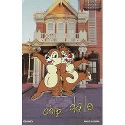 Disney Mystery Pin & Card - Signature - Chip and Dale