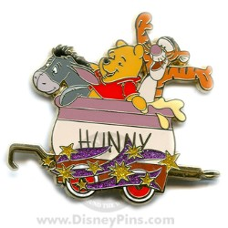 Disney Mystery Tin Pin - Character Train - Winnie the Pooh & Friends