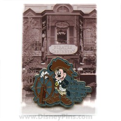 Disney Mystery Pin & Card - Dreams Slogans - Pirate Mickey