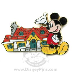 Disney Mystery Tin Pin - In the Parks - Mickey Mouse