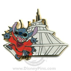 Disney Mystery Tin Pin - In the Parks - Stitch