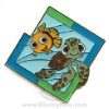 Disney Mystery Machine Pin - Pixar - Nemo and Squirt