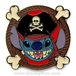 Disney Mystery Machine Pin - Pirates - Stitch