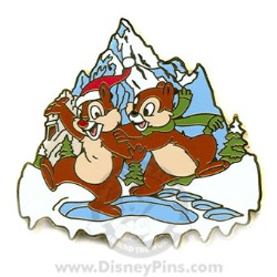Disney Mystery Pin & Card - Disney World - Everest