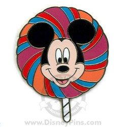 Disney Mystery Tin Pin - Lollipop - Mickey Mouse