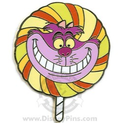 Disney Mystery Tin Pin - Lollipop - Cheshire Cat
