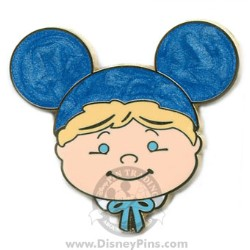Disney Mystery Tin Pin - it's a small world Kids - Boy - Blue Ears