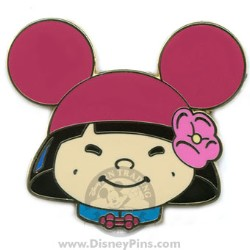 Disney Mystery Tin Pin - it's a small world Kids - Girl - Pink Ears