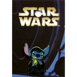 Disney Mystery Pin & Card - Star Wars - Stitch as the Emperor