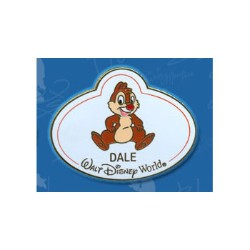 Disney Mystery Tin Pin - Nametags - Dale Name Tag
