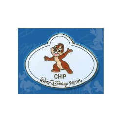 Disney Mystery Tin Pin - Nametags - Chip Name Tag