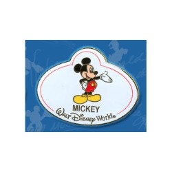 Disney Mystery Tin Pin - Nametags - Mickey Mouse Name Tag