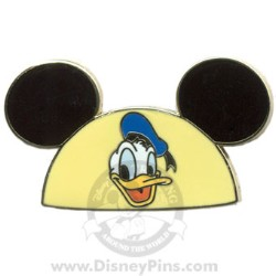 Disney Mystery Pin - Character Ear Hats - Donald Duck Ears