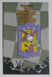 Disney Mystery Pin & Card - Nightmare Before Christmas - Shock