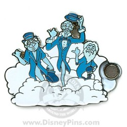 Disney Mystery Pin & Card - Dreams Clouds - Ghosts