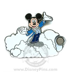 Disney Mystery Pin & Card - Dreams Clouds - Mickey Mouse