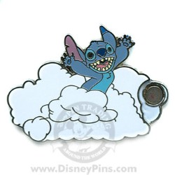 Disney Mystery Pin & Card - Dreams Clouds - Stitch