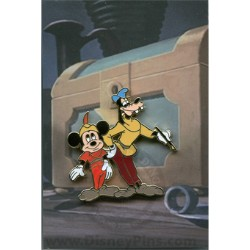 Disney Mystery Pin & Card - Mickey Through the Years - 1947 Goofy