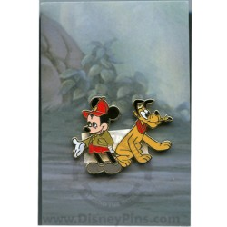 Disney Mystery Pin & Card - Mickey Through the Years - 1939 Pluto