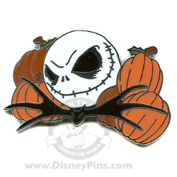 Disney Mystery Pin & Card - Holiday Jacks - Halloween Jack