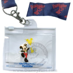 Disney Passholder Pin - Lanyard with Pouch