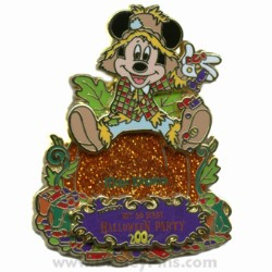 Disney Not So Scary Halloween Party Pin - 2007 - Passholder Mickey