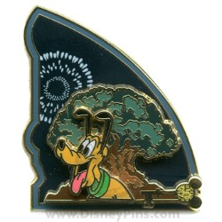 Disney Passholder Pin - Disney's Animal Kingdom Theme Park - Pluto