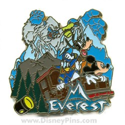Disney Spotlight Pin - E-Ticket Attractions - Expedition Everest