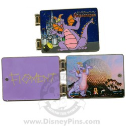 Disney Spotlight Pin - Autograph Book - Figment