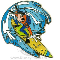 Disney Spotlight Pin - Surfing the Waves - Goofy