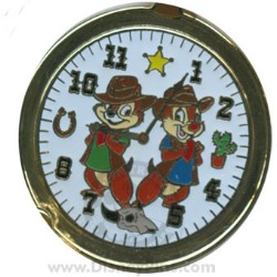Disney Spotlight Pin - Pocket Watch - Chip and Dale