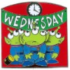Disney Spotlight Pin - Little Green Men Days of the Week - Wednesday